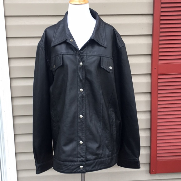 Denim Co Jackets Coats Denim Co Womens Black Leather Moto